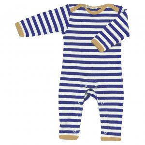Pigeon Organics Nautical Striped Romper