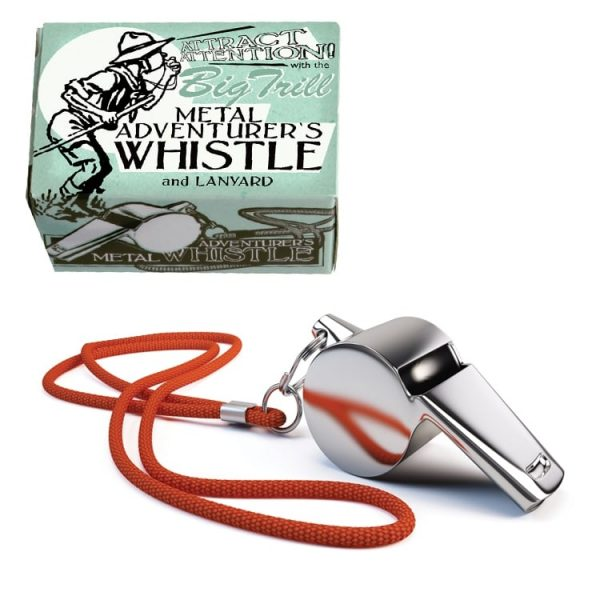 house of marbles adventurers metal whistle