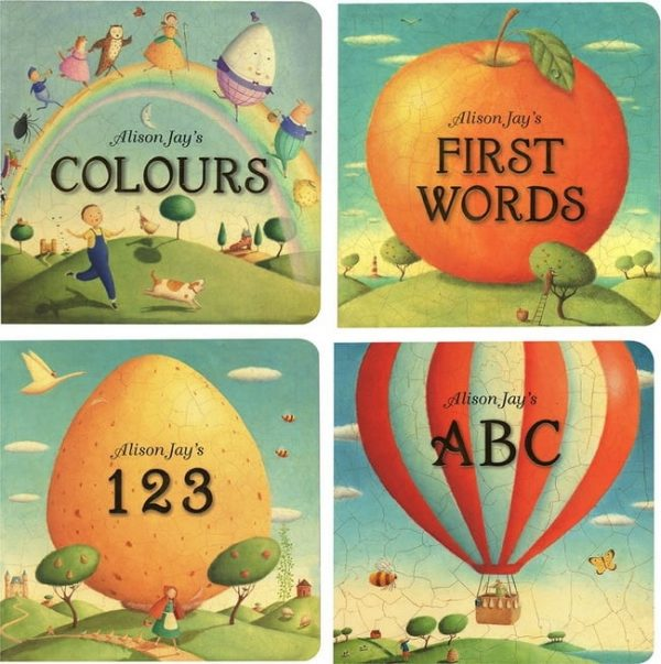 Alison Jay's board book selection