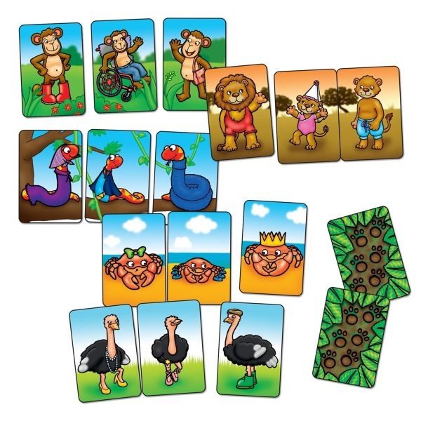 Orchard Toys Animal Families Mini Game Cards