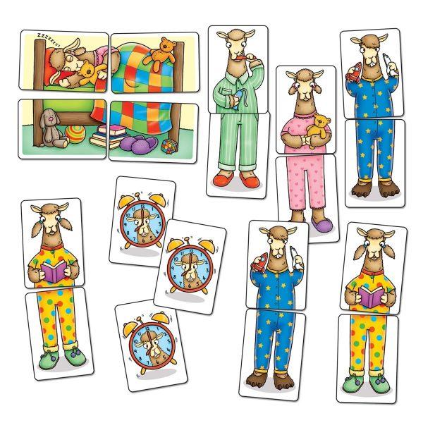 Orchard Toys Llama's in Pyjamas Mini Game Pieces