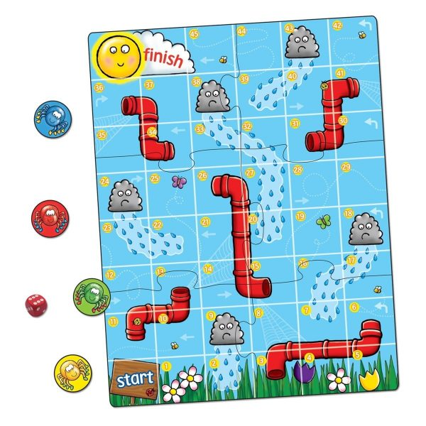 Orchard Toys Spiders and Spouts Mini Game Board
