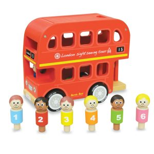 Indigo Jamm Bernie's Number Bus