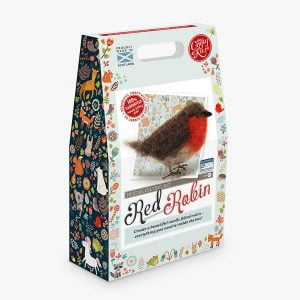 Crafty Kit Company – Red Robin Needle Felting Kit
