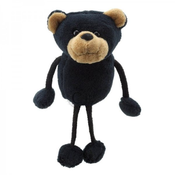 The Puppet Company Black Bear Finger Puppet