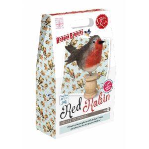Crafty Kit Company – Red Robin Needle Felting Kit