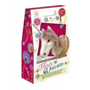 Crafty Kit Company – Fleur the Unicorn Needle Felting Kit