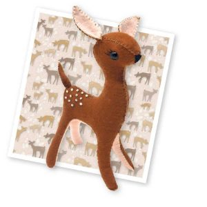Crafty Kit Company – Flora the Fawn Sewing Kit