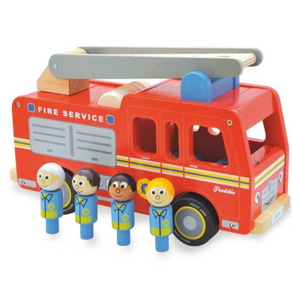 Indigo Jamm Freddie Fire Engine Characters