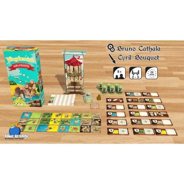 Kingdomino Age of Giants Expansion in play