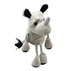 The Puppet Company Rhino Finger Puppet