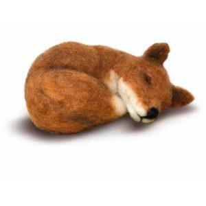 Crafty Kit Company – Sleepy Fox Needle Felting Kit