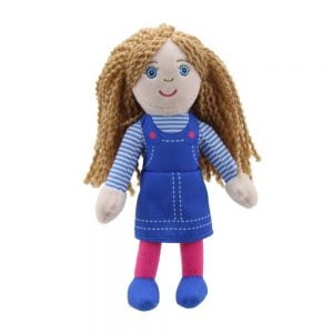 The Puppet Company Girl Story Telling Finger Puppet