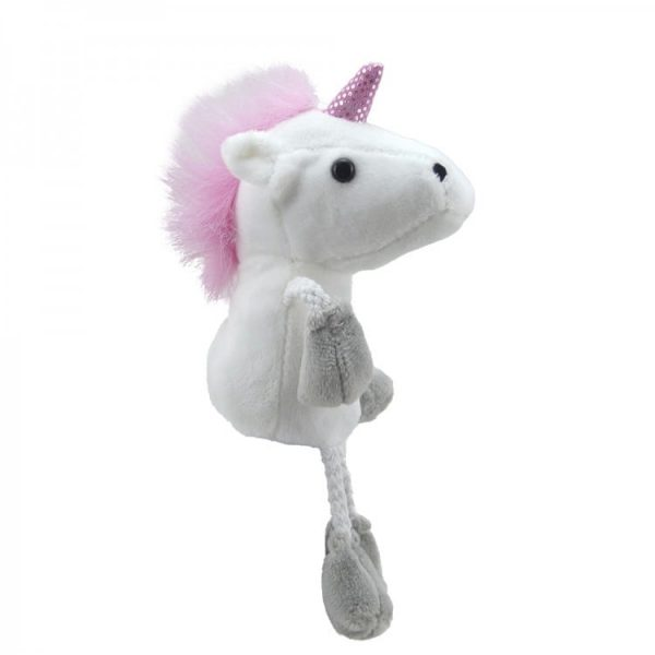 The Puppet Company Unicorn Finger Puppet Side