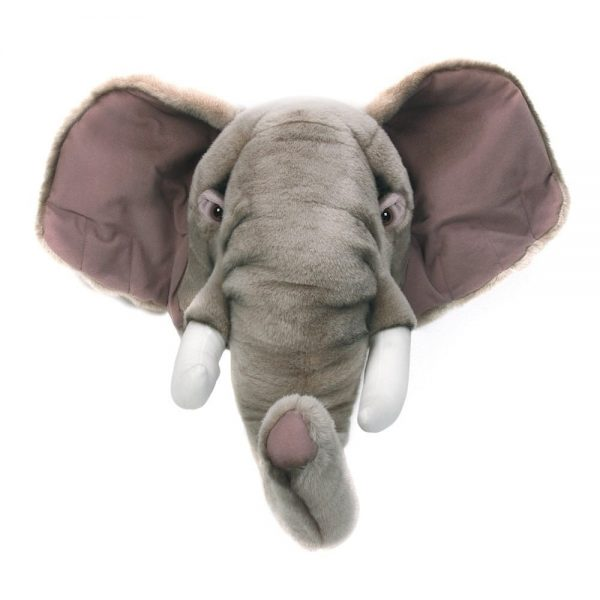 Wild and Soft Animal Trophy Head - George the Elephant