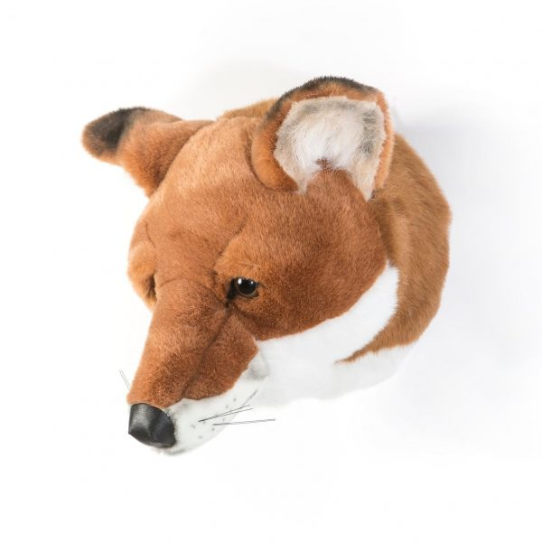 Wild and Soft Animal Trophy Head - Louis the Fox