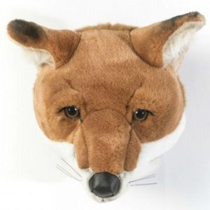 Wild and Soft Animal Trophy Head – Louis the Fox