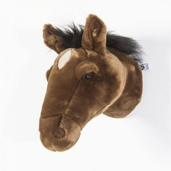 Wild and Soft Animal Trophy Head - Scarlett the Horse Profile