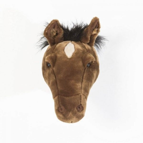 Wild and Soft Animal Trophy Head - Scarlett the Horse