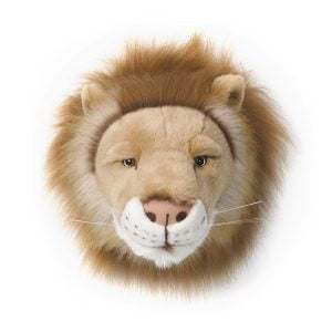 Wild and Soft Animal Trophy Head – Cesar the Lion