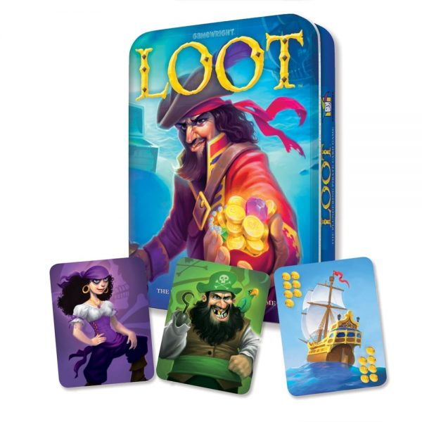 Loot Deluxe Tin Edition and cards