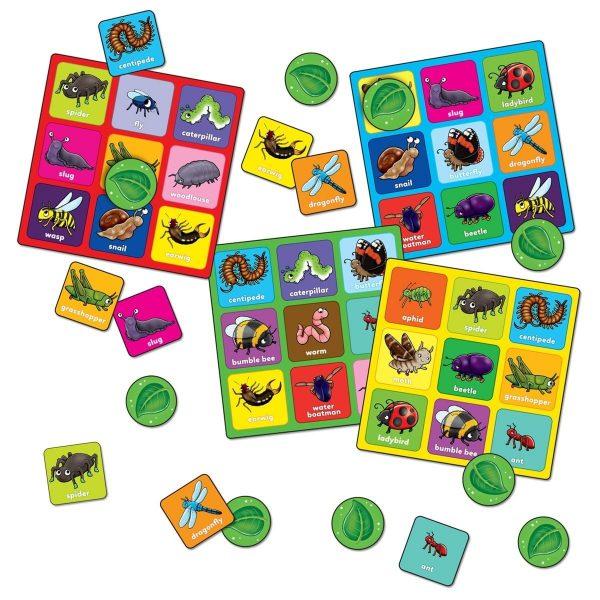 Orchard Toys Little Bug Bingo Mini Game Boards