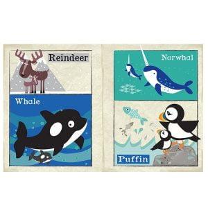 Nursery Times Crinkly Newspaper – Arctic Animals
