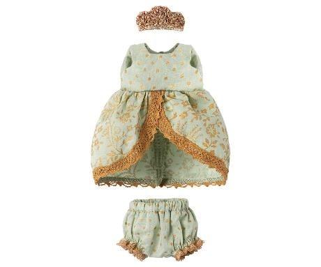 Maileg Mouse Princess Dress - Mint
