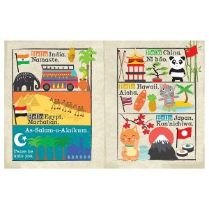 Nursery Times Crinkly Newspaper – Hello Friends