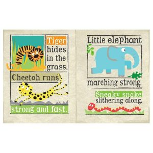 Nursery Times Crinkly Newspaper – Safari Park