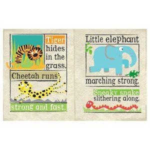 Nursery Times Crinkly Newspaper – Safari Park