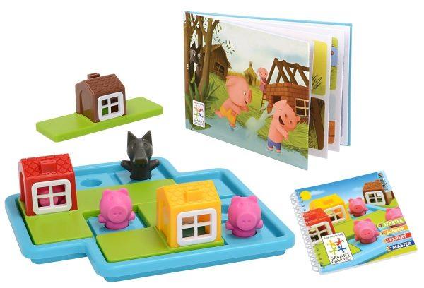 Smart Games Three Little Piggies Deluxe Board