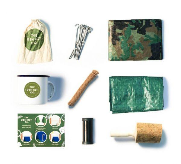The Original Den Kit Contents