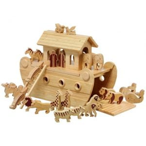 Lanka Kade Deluxe Natural Noah's Ark with Natural Characters