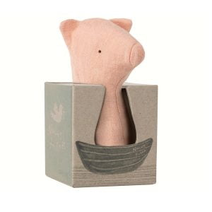 Maileg Noah's Friends Pig Rattle