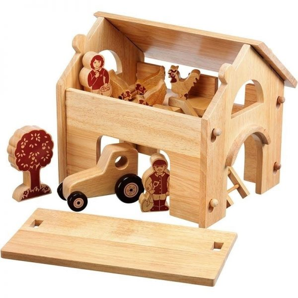 Lanka Kade Wooden Deluxe Farm and Barn with Natural Characters