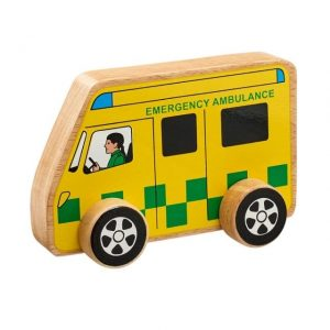 Lanka Kade Wooden Ambulance
