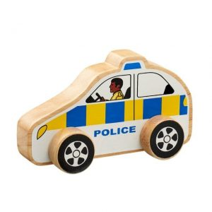 Lanka Kade Wooden Police Car