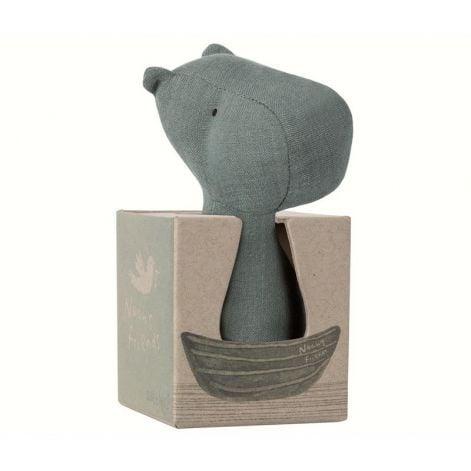Maileg Noah's Friends Hippo Rattle £12.50
