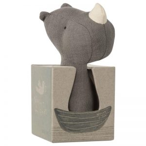 Maileg Noah's Friends Rhino Rattle