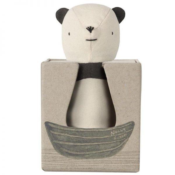 Maileg Noah's Friends Panda Rattle Box