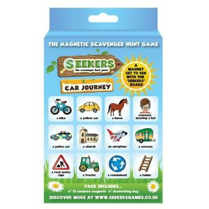 Seekers Scavenger Hunt Car Journey Magnets