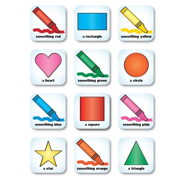 Seekers Scavenger Hunt Shapes and Colours Magnets