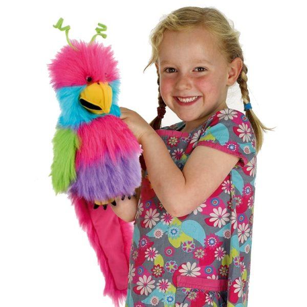 The Puppet Company Noisy Bird Of Paradise Baby Bird Puppet