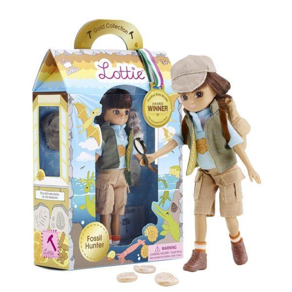 Lottie Doll Fossil Hunter