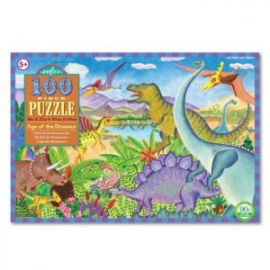 Eeboo Age of the Dinosaur Puzzle 100pc