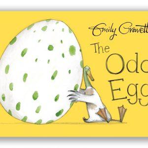 The Odd Egg Board Book by Emily Gravett