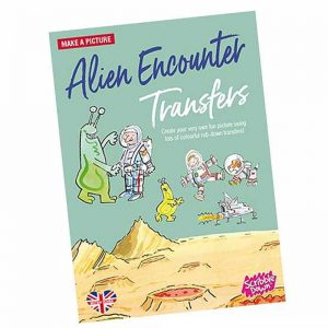 Scribble Down Transfers – Alien Encounter