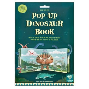 Clockwork Soldier Make A Pop-Up Dinosaur Book