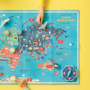 Clockwork Soldier Create Your Own Giant World Map